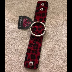 Paparazzi Asking Fur Trouble red urban bracelet